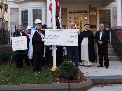 Photo: Check Presentation to Columbus House